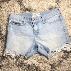 Abercrombie kids midi shorts